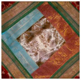 Kussenhoes sarizijde 35 - 40 x 40 cm