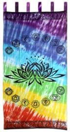 Gordijn / deurhanger Chakra Lotus 110 x 220 cm