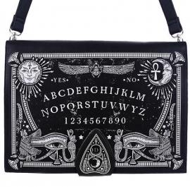 Restyle schoudertas laptoptas Gothic Occulte zwarte Ouijabord