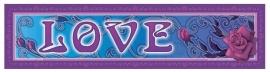 Bumper sticker Love