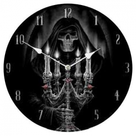 Clock - Candalabra - Anne Stokes - 34 cm