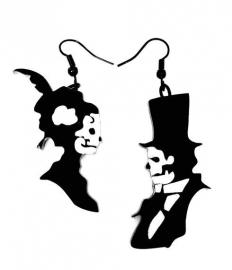 Curiology oorbellen - Til Death