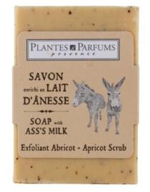 Scrubzeep met ezelinnenmelk - abrikoos -100 g