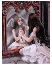 Magic Mirror - wandbord van Anne Stokes - 25 x 19 cm