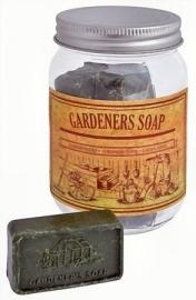 Gardener's Soap - tuineerders zeep in glazen pot