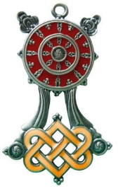 Briar Dharma Charms Buddhist Wheel