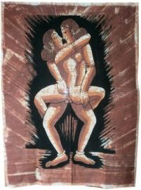 Wandkleden erotische dessins
