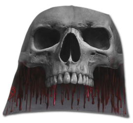Spiral Direct - Death Roar - bloedende doodskop - katoenen muts - beanie