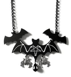Curiology nekketting - Satanische vleermuizen