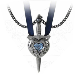 Alchemy Gothic dubble nekketting - Love is King - liefdesketting voor een stel