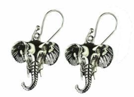 925 zilveren oorbellen Olifantenhoofden Ganesha Ganpati