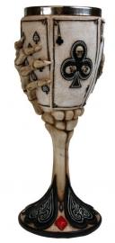 Kelk Dead Man's Hand - 20 cm hoog