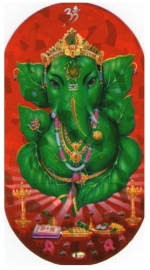 Ganesha stickers