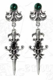 Alchemy Gothic oorbellen - The Lucy Westenra Spica oorbellen