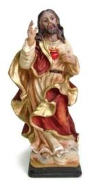 Christus Heilig Hart beeld 15 cm hoog