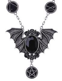 Restyle vleermuis ketting - Necronomicon Bat