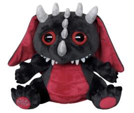Spiral Direct Gothic Horror knuffel - Baby Draak - dragon soft toy - 27 x 30 cm