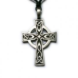 Pewter hanger Keltisch kruis 2