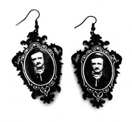 Curiology oorbellen Edgar Allan Poe