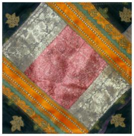Kussenhoes sarizijde 32 - 40 x 40 cm