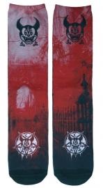 Darkside sokken - Micky Mouse 666 duivel pentagram - maat 36 - 46