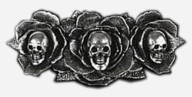 Restyle Gothic doodskoppen haarclip Dark Wonderland