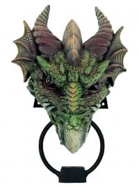 Kryst - deurklopper in de vorm van een groene draak