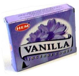 Hem wierookkegels Vanilla