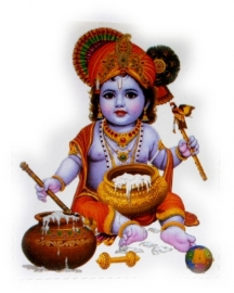 Sticker Krishna 1