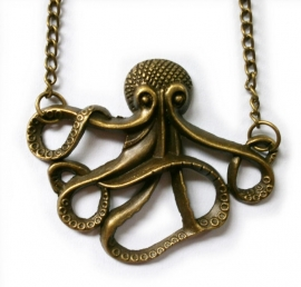 The Kraken Wakes -  ketting bronskleurige oktopus