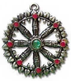 Briar Dharma Charms Dharma Wheel