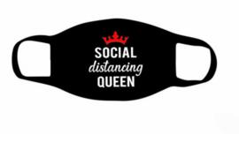 Social distancing masker Queen