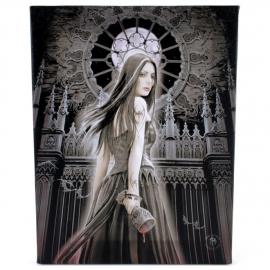Gothic Siren - wandbord van Anne Stokes - 25 x 19 cm