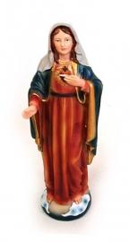 Maria beeld Heilig Hart - 15 cm hoog