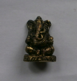 Minibeeld messing Ganesha 2.2 cm hoog