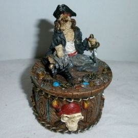 Pirate trinket box 1