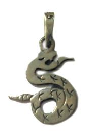 925 zilveren slang kettinghanger - 2.8 x 1.7
