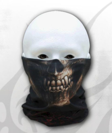Spiral Direct - Goth Skull - Multifunctional Face Wrap Masker