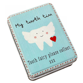 My Tooth Tin - 10 x 8 x 3.5 cm