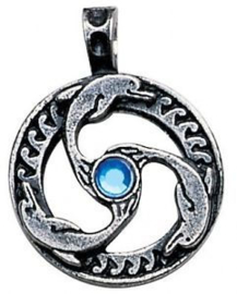 Nordic Lights - Dolphin Triskilian - for guidance and inner peace