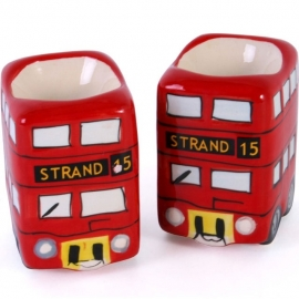 Egg cups British busses