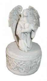 Sieradendoos engel met hart 13 cm