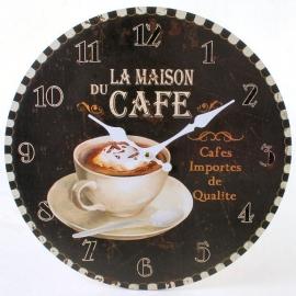 Clock Café - Ø 34 cm