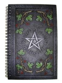 Wiccan Book Of Shadows - 24cm hoog