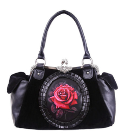 Restyle handtas rode roos Cameo