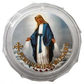 Rozenkransdoosje Maria de Wonderdadige