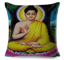 Kussenhoes Hindu God - Buddha - 45 x 45 cm