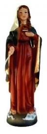 Maria beeld Heilig Hart - 20 cm hoog