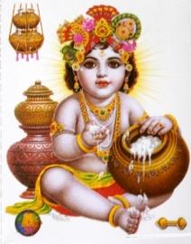 Sticker Krishna 6