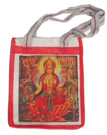 Bollywood Bag Indiase katoenen shopper - Lakshmi - 35 x 30 x cms